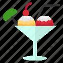 cream, dessert, food, ice cream icon