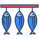 dried, fish