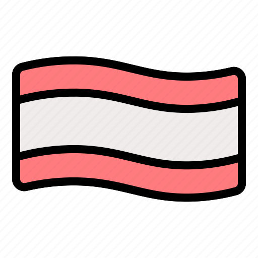 bacon, food, grilled, meat, pork, strip icon