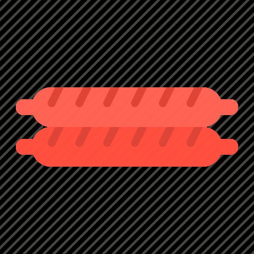 Food, junk food, meat, pork, sausage icon - Download on Iconfinder
