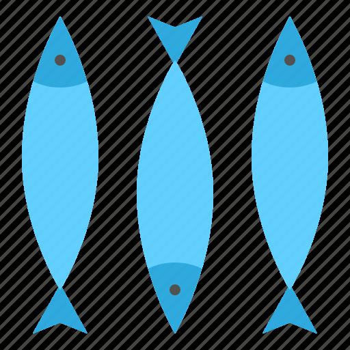 animal, fish, food, meat, sea icon
