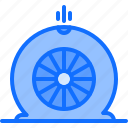 mechanic, tire, service, transport, car icon