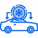 service, conditioning, mechanic, air, transport, car, cooling icon