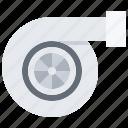 service, detail, mechanic, transport, car, turbine, turbo icon