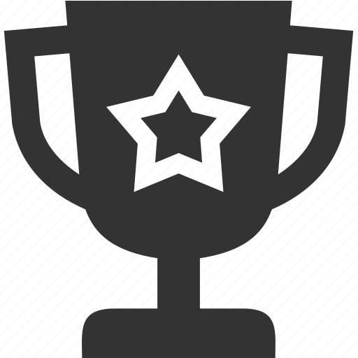 award, cup, prize, star, winner icon