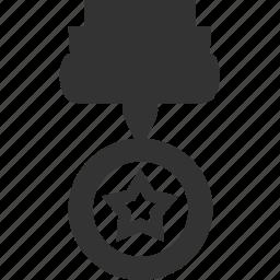 award, medal, prize, star, winner icon