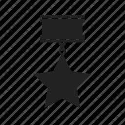 award, favorite, medal, star, winner icon