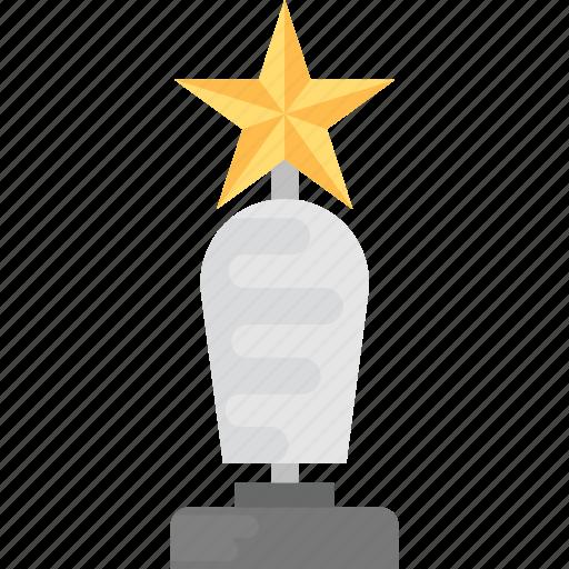 honor award, star award, success trophy, victory award, winner prize icon