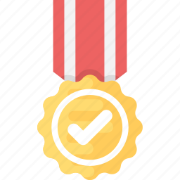 appreciation, approved medal, certified medal, competitive award icon
