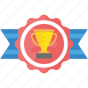 champion, sports award, sports badge, success, victory icon
