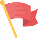 banner, ensign, flag, insignia, ribbon