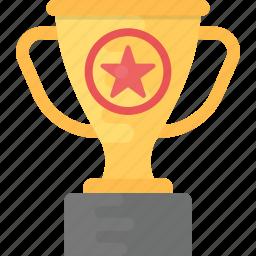 award, prize, star trophy, trophy cup, winner icon