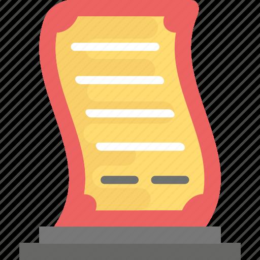 award, best performance, shield, trophy, winning award icon