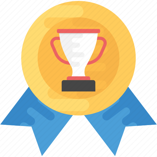 gold award, seal ribbon, winner award, winner batch icon