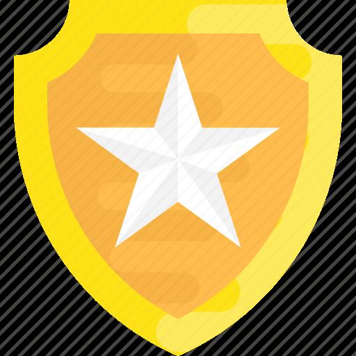 military badge, police badge, police ranking, ranking, star badge, star shield icon