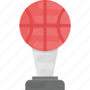 basketball match, basketball trophy, basketball winner, sports trophy, winner icon