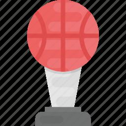 basketball match, basketball trophy, basketball winner, sports trophy, winner icon