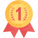 award badge, award ribbon badge, ribbon badge, winner badge icon