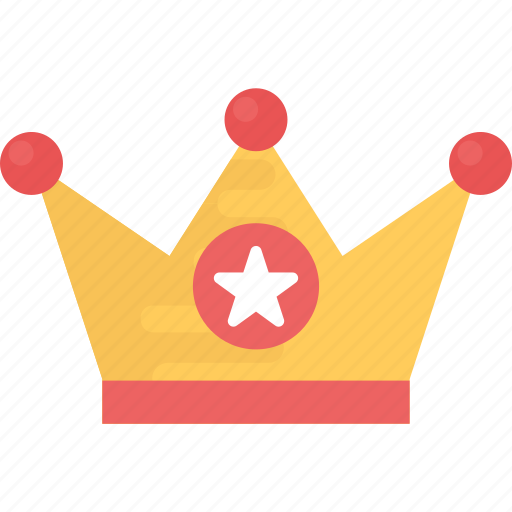 Crown King Crown Leader Symbol Queen Crown Royal Throne Icon