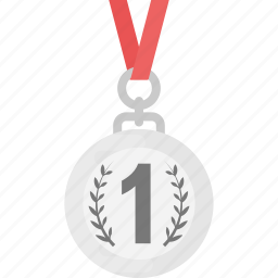champion medal, first place, first rank, medal, winner icon