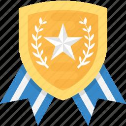 emblem, police badge, security symbol, sheriff badge, star shield icon