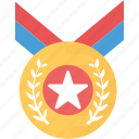 award, gold medal, medal, olympic award, sports medal icon