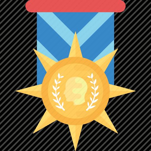 army badge, emblem, honor symbol, military medal, star reward icon