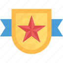 award badge, quality badge, ribbon badge, star badge, winner badge icon