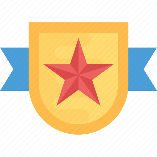 award badge, quality badge, ribbon badge, star badge, winner badge icon