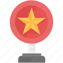 achievement award, star award, success symbol, victory sign, winner shield