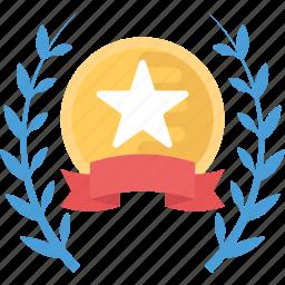award, champion, sports award, success, victory icon