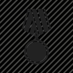 achievement, acknowledge, award, best, medal, win, winner icon