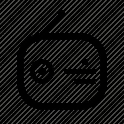 media, network, radio, signal icon