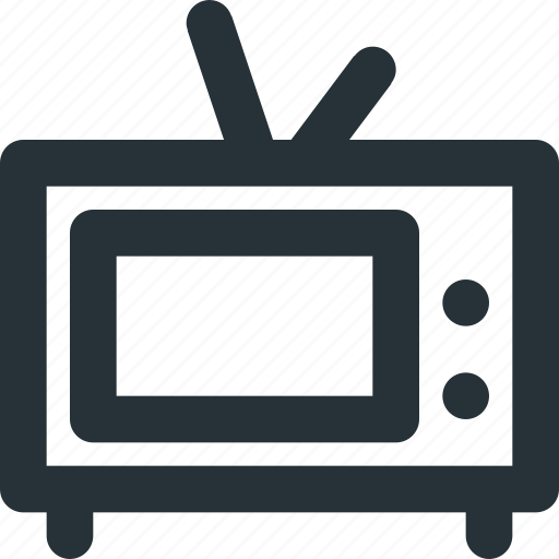 device, network, set, show, television, tv icon