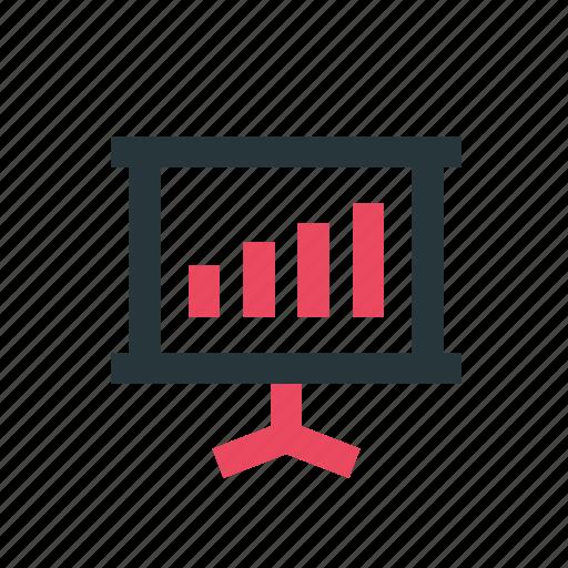 advertisement, business, marketing, media, network, news, slide icon