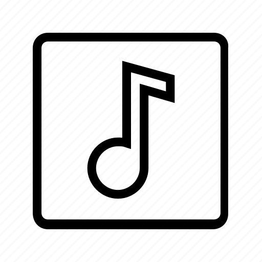 audio, music, music note, note, sound icon
