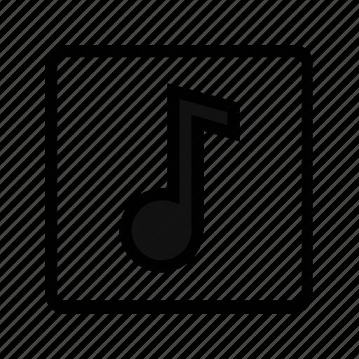 audio, music, music note, sound icon