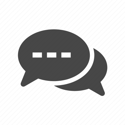 chat, media, message, messenger icon