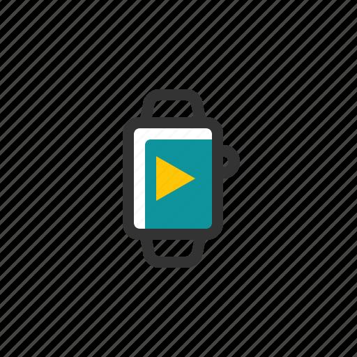 device, electronic, media, multimedia, smart, watch icon