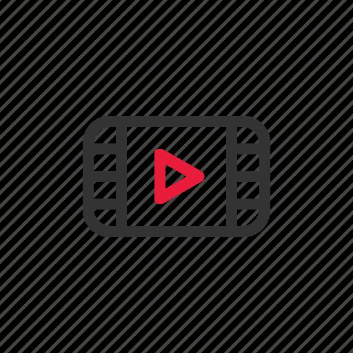 device, electronic, film, media, movie, multimedia icon