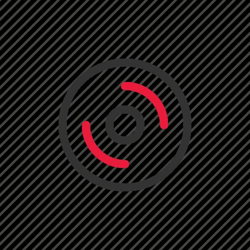 cd, device, electronic, media, multimedia icon