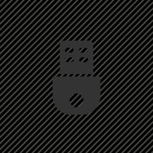 device, electronic, flashdrive, media, multimedia, usb icon