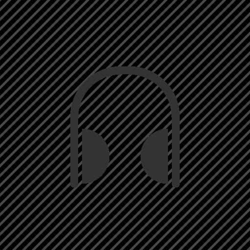 device, electronic, headphone, media, multimedia icon