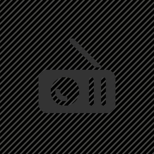 device, electronic, media, multimedia, radio icon