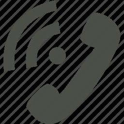 communication, mobile, phone, telephone icon