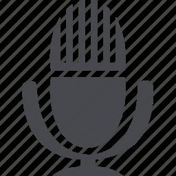 audio, microphone, music, volume icon