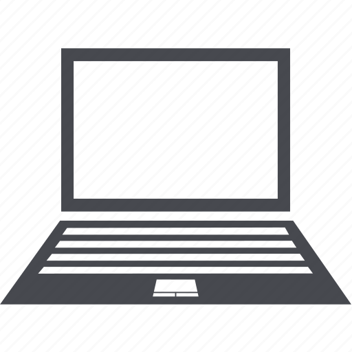 device, display, laptop, notebook, pc icon