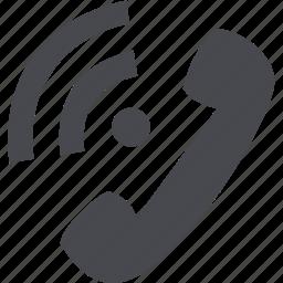 communication, message, phone, telephone icon