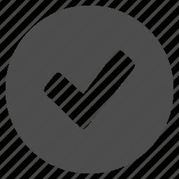 button, buttons, check, checkmark, multimedia, verified, web icon