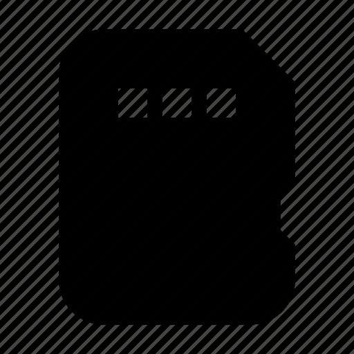 card, electronics, flash, hardware, media, multimedia icon